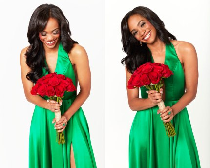 Rachel-LIndsay-Bachelorette-1500-Promo-Green-Dress